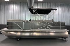 "25"" Pontoon Logs of a 2021 Sylvan Mirage 8520 Party Fish Pontoon Boat"