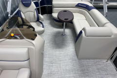 Interior Aft Layout of the 2021 Berkshire 20CL LE Pontoon Boat