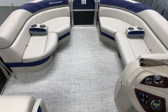 Interior Bow Layout of the 2021 Berkshire 20CL LE Pontoon Boat