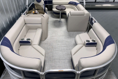 Woven Vinyl Flooring of the 2021 Berkshire 20CL LE Pontoon Boat