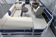 Interior Layout of the 2021 Berkshire 20CL LE Pontoon Boat