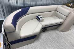 Premium Vinyl Package of the 2021 Berkshire 20CL LE Pontoon Boat