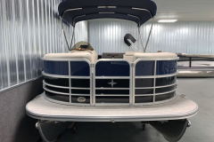 Bow Swim Deck of the 2021 Berkshire 20CL LE Pontoon Boat
