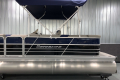 Two-Tone Panel Design of the 2021 Berkshire 20CL LE Pontoon Boat
