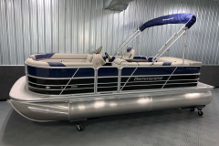 Interior/Exterior of the 2021 Berkshire 20CL LE Pontoon Boat