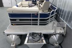 Aft Swim Deck of the 2021 Berkshire 20CL LE Pontoon Boat