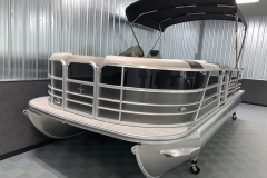 Bow Swim Deck of the 2021 Berkshire 22CL LE Pontoon Boat