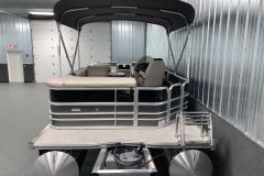 Rear Swim Deck of the 2021 Berkshire 22CL LE Pontoon Boat