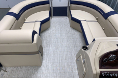 Woven Vinyl Flooring of the 2021 Berkshire 22CL2 CTS Pontoon Boat