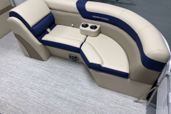 (2) Portable Cupholders on the 2021 Berkshire 22CL2 CTS Pontoon Boat