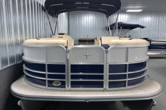 Bow Swim Deck of the 2021 Berkshire 22CL2 CTS Pontoon Boat
