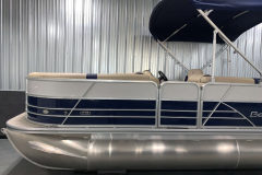 Two-Tone Panel Design of the 2021 Berkshire 22CL2 CTS Pontoon Boat
