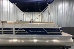 Exterior Panel Design of the 2021 Berkshire 22CL2 CTS Pontoon Boat