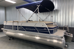 D-Rail Panel Design of the 2021 Berkshire 22CL2 CTS Pontoon Boat
