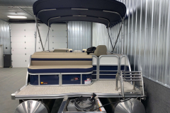Aft Swim Deck of the 2021 Berkshire 22CL2 CTS Pontoon Boat