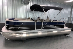 10' Bimini Top of the 2021 Berkshire 24RFX LE Pontoon Boat
