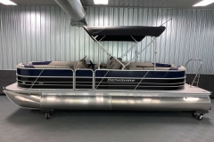 "25"" Pontoon Logs of the 2021 Berkshire 24RFX LE Pontoon Boat"