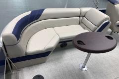Interior Furniture of the 2021 Berkshire 24RFX LE Pontoon Boat