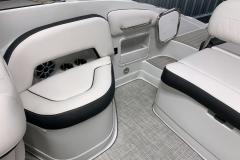 Transom Walkthrough of the 2021 Crownline 255 SS Bowrider Boat