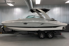 Powered Arch with Bimini Top on the 2021 Crownline 255 SS Bowrider Boat