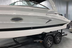 Custom Built Tandem Axle Trailer of the 2021 Crownline 255 SS Bowrider Boat