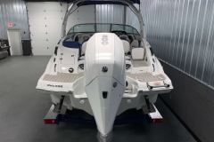 Mercury 300hp Outboard Motor on the 2021 Crownline 255 XSS Bowrider Boat