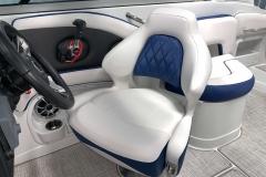 Gen2 Captain's Seat of the 2021 Crownline 255 XSS Bowrider Boat