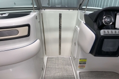 Bow Walkthrough Windscreen of the 2021 Crownline 255 XSS Bowrider Boat