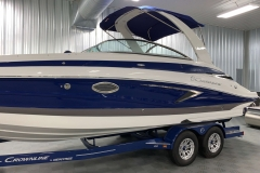 Custom Built Tandem Axle Trailer of the 2021 Crownline 265 SS Bowrider Boat