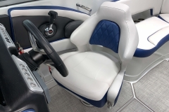 Captains Gen 2 Bucket Seat of the 2021 Crownline 265 SS Bowrider Boat