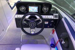 """Garmin 7"""" Touchscreen Display of the 2021 Crownline 265 SS Bowrider Boat"""