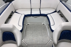 U-Wrap Seating Configuration of the 2021 Crownline 265 SS Bowrider Boat