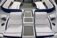 Transom Walkthrough of the 2021 Crownline 265 SS Bowrider Boat