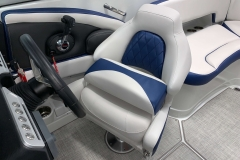 Gen 2 Bolster Seat of the 2021 Crownline 265 SS Bowrider Boat