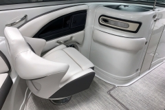 Passenger Seat and Enclosed Head of the 2021 Crownline 270 XSS Bowrider Boat