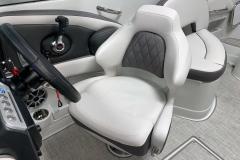 Captains Gen 2 Bucket Seat of the 2021 Crownline 270 XSS Bowrider Boat