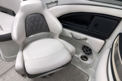 Co-Captains Gen 2 Bucket Seat of the 2021 Crownline 270 XSS Bowrider Boat