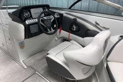 Helm of the 2021 Crownline 270 XSS Bowrider Boat