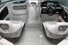 Bow Walkthrough of the 2021 Crownline 270 XSS Bowrider Boat