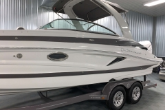 Custom Tandem Axle Trailer of the 2021 Crownline 270 XSS Bowrider Boat