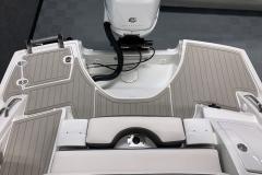 Social Swim Transom of the 2021 Crownline 270 XSS Bowrider Boat