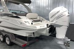 Mercury 350HP Verado XL Motor on the 2021 Crownline 270 XSS Bowrider Boat