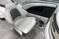 Co-Captains Gen 2 Bucket Seat of the 2021 Crownline 280 SS Bowrider Boat