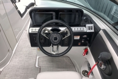 """Dual Garmin 7"""" Touchscreen Displays of the 2021 Crownline 280 SS Bowrider Boat"""
