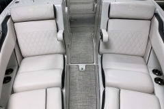 Bow Walkthrough of the 2021 Crownline 280 SS Bowrider Boat