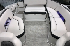 Interior LED Lighting on the 2021 Crownline 280 SS Bowrider Boat