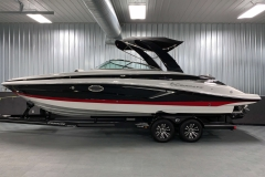 Custom Tandem Axle Trailer of the 2021 Crownline 280 SS Bowrider Boat