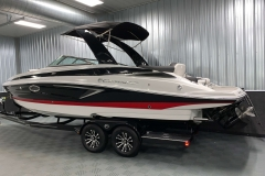 Exterior Design of the 2021 Crownline 280 SS Bowrider Boat