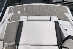 Social Swim Transom of the 2021 Crownline 280 SS Bowrider Boat