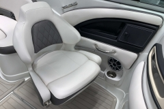 Co-Captains Gen 2 Bucket Seat of the 2021 Crownline 290 SS Bowrider Boat